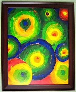 Acrylic Painting with Planets (page 2) - Pics about space