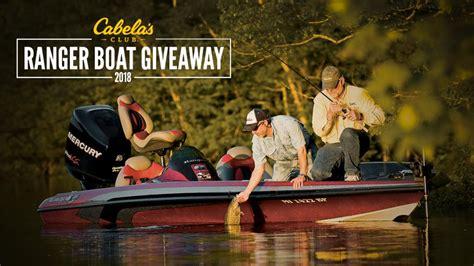 Cabela S Boat Giveaway by Cabela S Cabelas