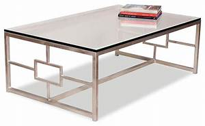 vetra contemporary antique silver leaf glass rectangle With silver rectangle coffee table