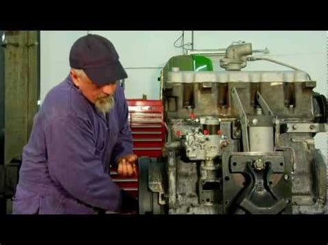 installing  diesel injection pump setting  timing