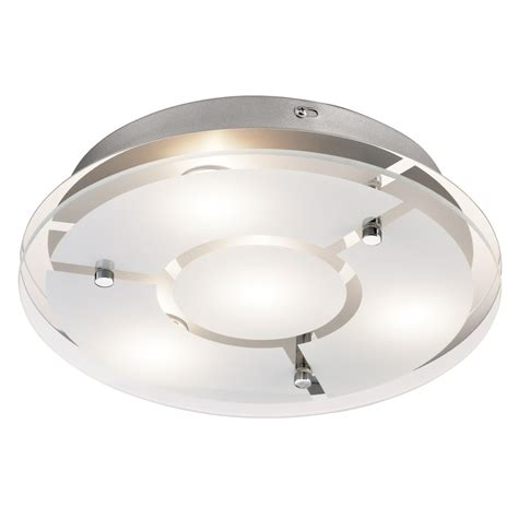 flush mount shop light shop kichler lighting 12 01 in w chrome led ceiling flush