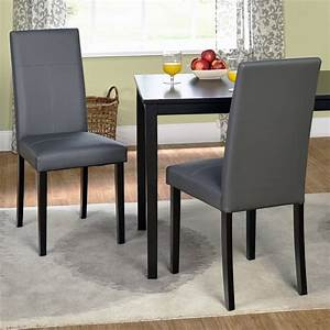 dining chairs glamorous leather parsons dining chair With leather parsons dining room chairs