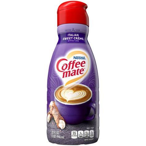And, those people who are allergic to casein should avoid it. Coffee Mate Non- Dairy Liquid Coffee Creamer, Italian Sweet Cr´me, 32 Oz - Walmart.com - Walmart.com