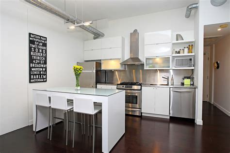 Kitchen: Wonderful Small Modern Black And White Dining