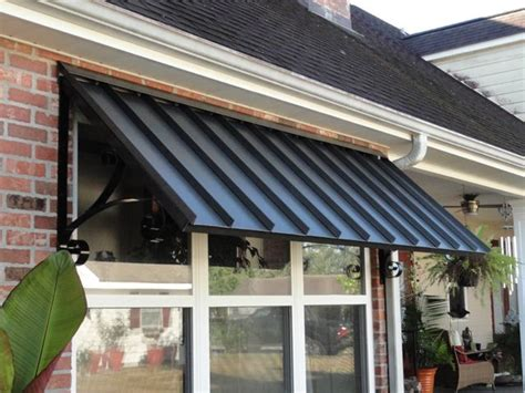residential aluminum awnings patio center  design  shape size standing seam awning