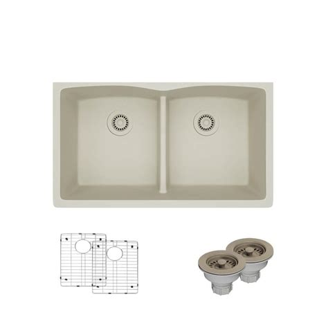 faucet for sink in kitchen rene by elkay undermount quartz 33 in bowl kitchen 8918