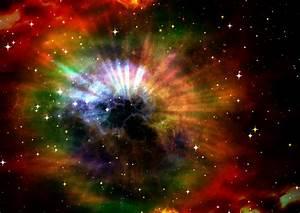 Galaxy Colors Free Image