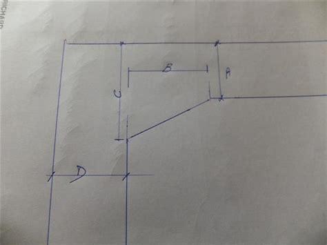 plan de travail d angle pour cuisine disposition carrelage plan de travail sur meuble d 39 angle