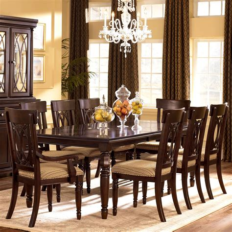 9 dining room table furniture 9 piece dining room table sets augusta