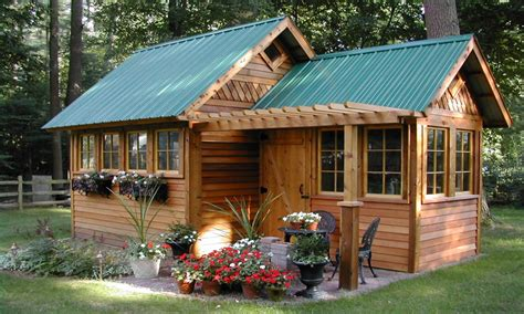 Tiny Guest House Ideas Photo Gallery by Backyard Storage Shed Designs Garden Shed Guest House