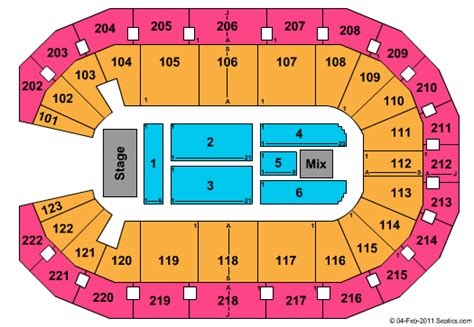 Coliseum At Alliant Energy Center Seating Chart