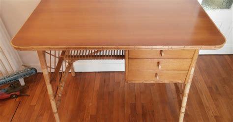 bureau en rotin durée de vie indéterminée bureau en rotin quot louis sognot quot