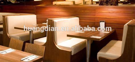 wooden frame black leather upholstered restaurant dining