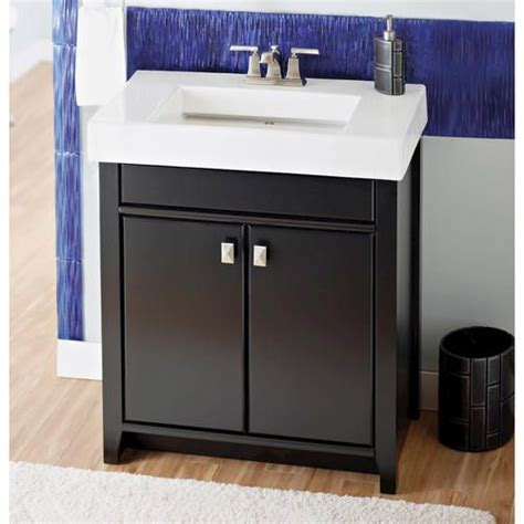 Bathroom Vanity Mirrors At Menards by Magick Woods 31 1 8 Quot Bristol Collection Vanity Ensemble At
