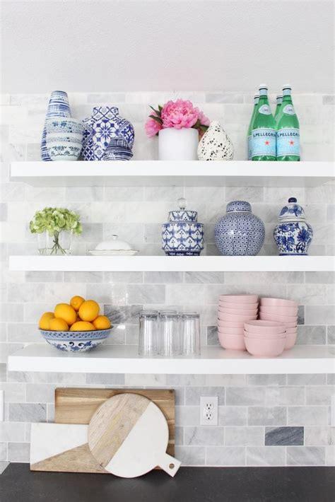 install floating shelves  tile easy tips