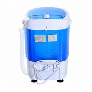 Mini Machine À Laver Sans Arrivée D Eau : homcom mini machine laver lave linge portable avec essorage minuterie 170w ~ Melissatoandfro.com Idées de Décoration