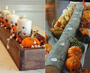 Wunderschne Und Einfache Herbstdeko Basteln FresHouse