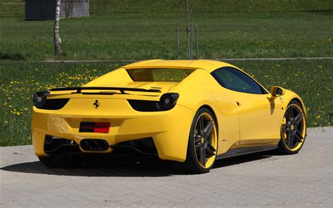 The Spider Car by Novitec Rosso 458 Spider 2012 Widescreen
