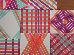 DIY Washi Tape Art: a study on patterns and color — A