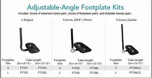 Bodypoint Adjustable Angle Footplate Kits For Wheelchair Users