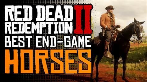 rdr2 horse horses dead redemption breeds game them