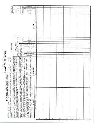 Aa 4th Step Worksheet Homeschooldressagecom