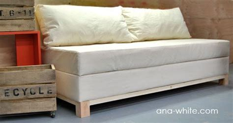 ana white build  storage sofa   easy diy