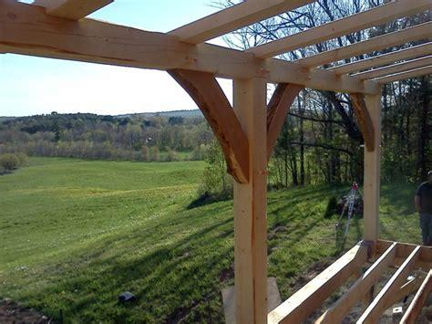 timber frame porchdeck system black dog timberworks