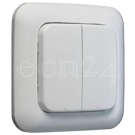 lichtschalter mit zeitschaltuhr funk lichtschalter doppelwippe funkschalter efs 433mhz ebay