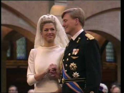 civil wedding ceremony   prince  orange  maxima