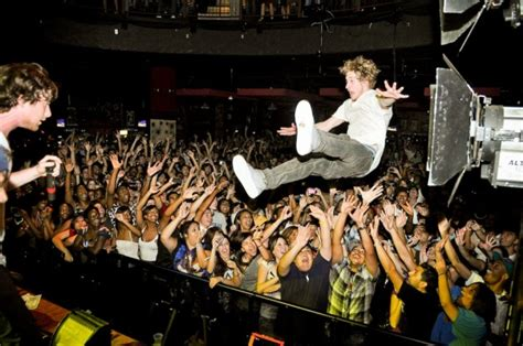 Stage Dive - five great moments in failed stage dives
