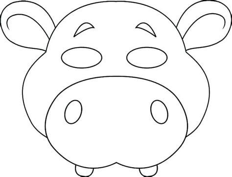 disegni di animali da stare e ritagliare 1001 idee per maschere da colorare e ritagliare