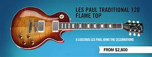 Gibson Com  Les Paul Traditional Flame Top