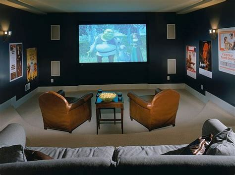 house plans with media room cozy media room design decoist