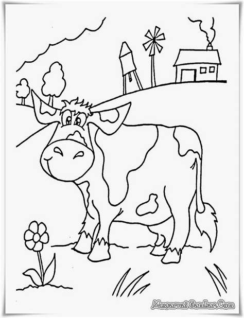 Coloring Kambing by 15 Best Buku Mewarnai Gambar Gratis Images On