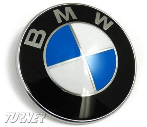 genuine bmw hood andor trunk emblem fits