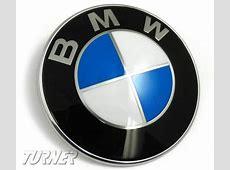 51148132375 Genuine BMW Hood andor Trunk Emblem Fits