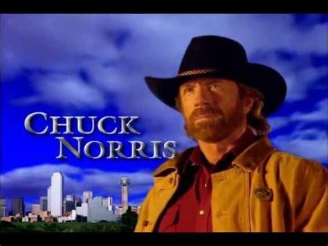walker texas ranger intro theme song  hq chuck