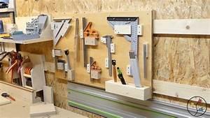 Werkzeugwand Selber Bauen : werkzeughalter selber bauen french cleat werkzeugwand holzhandwerk ~ Watch28wear.com Haus und Dekorationen