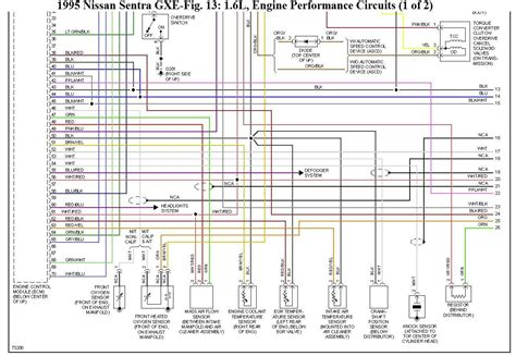 2004 Yale Wiring Schematic by Wiring Diagram For Nissan Sentra Gxe 1995 Wiring Problem