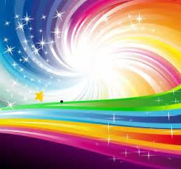 Colorful Abstract Rainbow Vector
