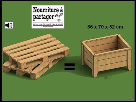 tuto fabriquer un bac 224 jardiner en bois de palette incroyables comestibles