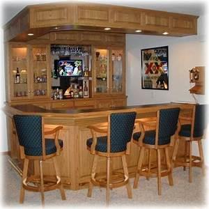 Oak back bar woodworking plans for Back bar designs for home