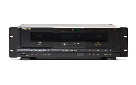 marantz cassette marantz pmd 300cp pro dual well cassette player recorder