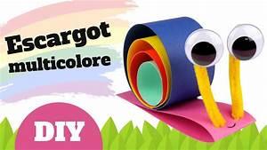 Bricolage Facile En Papier : comment fabriquer un escargot en papier bricolage ~ Mglfilm.com Idées de Décoration