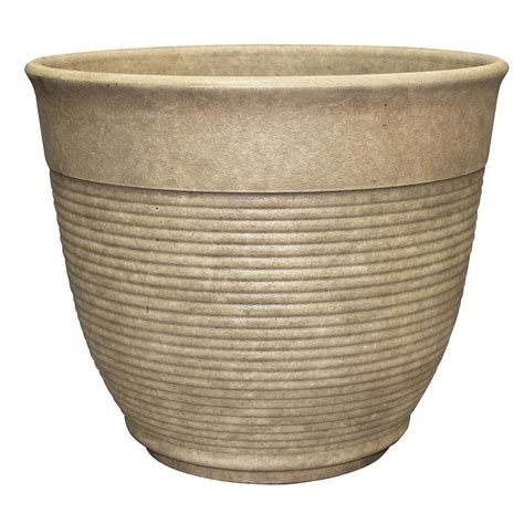 southern patio planters hdr 14 6 quot multi ring planter sand southern patio