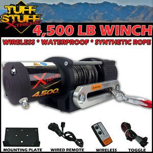 Tuff Stuff Utv Utility Winch Wireless Remote