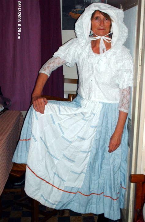 costume la maison dans la prairie folklore americain alumait