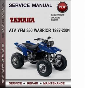Yamaha Atv Yfm 350 Warrior 1987