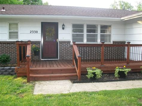 Front Porch Deck by What Color Should I Paint My Front Door Pics Mw Home